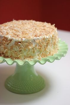 Coconut Layer Cake from America's Test Kitchen. Seriously, the best cake I've ever had!!