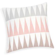 Fodera di cuscino in cotone rosa 40 x 40 cm TRENDY