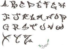 Great Grafitti Alphabet