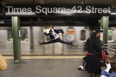 "If Only Your Commute Looked Like THIS ""This photograph changed the direction of Dancers Among Us.  I got chills because I understood what the project could become."""