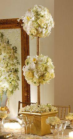 Ont Wedding Fl Topiaries Prestonbailey Chic Elegant