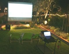 movie theater themed classroom | ... to build an outdoor theater DIY backyard theater: BEYOND THE BASICS