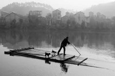 """arabamolsamontgiymezdim: """" The Fisher and Dogs Chian Tsun-Hsiung """" Rafting, Fisher, Mountains, Country, Nature, Pictures, Photography, Travel, Taiwan"""