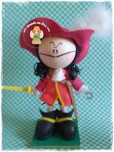 Capitaine Crochet et Peter Pan