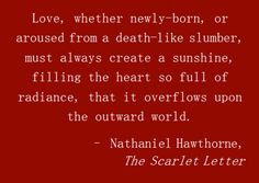 "Scarlet Letter Quotes Nathaniel Hawthorn American Novelist Who Wrote ""the Scarlet Letter"