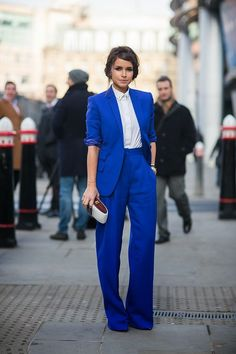 2 Straight Pant Suits for ladies hot collection  (2) …