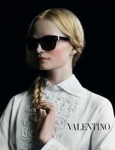 Maud Welzen | Photog: Inez & Vinoodh | Valentino Fall 2013 Campaign