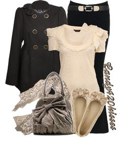 """""""Bow's everywhere.. :)"""" by candy420kisses ❤ liked on Polyvore"""
