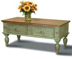 Country Classics Furniture, Farmhouse Coffee Table