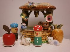 Casting wishes.. Vintage Ornaments, Snow Globes, It Cast, Miniatures, Dolls, Home Decor, Baby Dolls, Decoration Home, Room Decor