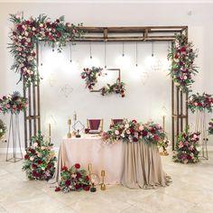 Wedding Show, Wedding Reception, Dream Wedding, Wedding Day, Bridal Table, Backdrop Design, Wedding Photo Booth, Wedding Moments, Event Decor