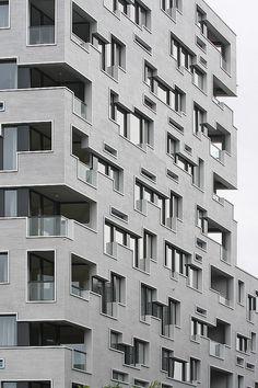 Südpark Basel Retirement home by Herzog & de Meuron | by bcmng