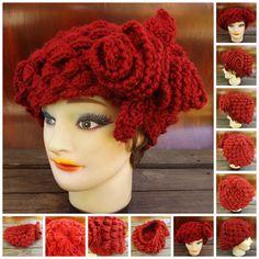 Crochet Pattern Crochet Hat Pattern Women by strawberrycouture, $5.00