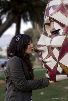 kissing Rabarama :) www.rabarama.com