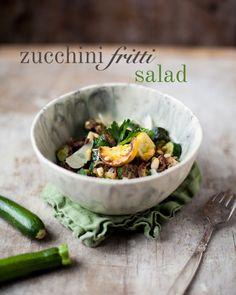 Zucchini Fritti, Lemon, & Parmesan Salad | FamilyStyle Food