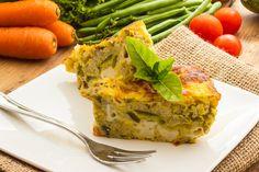 Flan moelleux aubergine-asperge