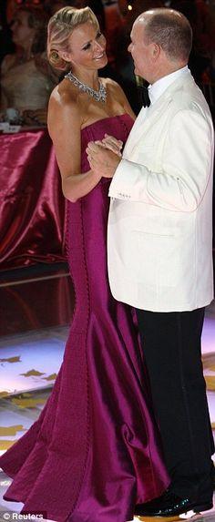 King Albert II (Albert Alexandre Louis Pierre Grimaldi) (1958-living2013) Monaco & Charlene Lynette Wittstock (1978-living2013) South Africa. Albert II is 2nd child King Rainier II (Rainier Louis Grimaldi) (1923-2005) Monaco & Princess Grace Patricia Kelly (1929-1982) USA. Charlene is 1st child of Michael Kenneth Wittstock (1946-living2013) & Lynette Humberstone (1957-living2013) both of UK.