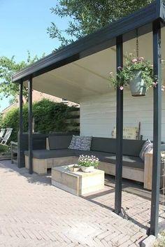 Best Outdoor Living Rooms: 3 Hot Outdoor Decor Trends For 2013 Outdoor Living Rooms, Outside Living, Outdoor Spaces, Outdoor Life, Outdoor Gardens, Garden Structures, Outdoor Structures, Pergola, Outdoor Seating