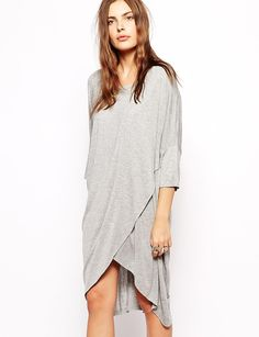 Asymmetric Shift Dress