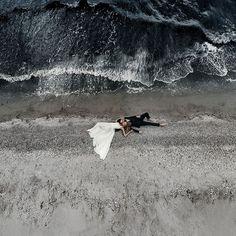 Wedding photography with drones: wedding photographer Igor Bulgak (Igorb). Photo from Sou