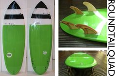 round tail quad - Seed Surf Co.