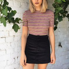 New Stripes. #AmericanApparel #AAemployees #Melbourne