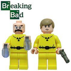 lego breaking bad figures from bruceywan