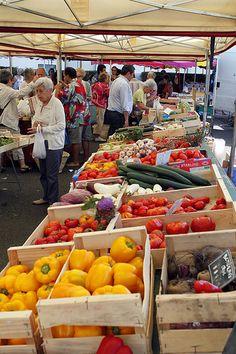 marché de #mimizan