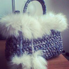 Crocher bag winter style