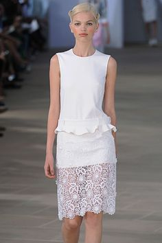Preen on the catwalk Spring / Summer 2012.