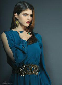 Alexandra Daddario Bello Magazine