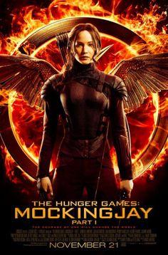 Final Katniss Mockingjay Part 1 Poster