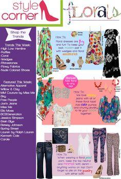 Style Corner - Floral -May 18 - 25 #VonMaur