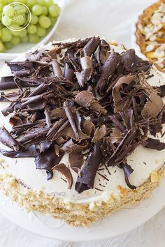 Tort cappuccino   Ulubione przepisy Polish Recipes, Polish Food, Dessert Recipes, Desserts, Food And Drink, Sweets, Candy, Cookies, Chocolate