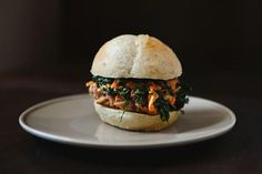 Chinese Pulled Pork Sandwiches with Kale and Apple Slaw recipe: Beautifully spiced and tender. #food52