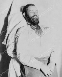 Jesse James Dead Body 1880s 8x10 Reprint Of Online Photo