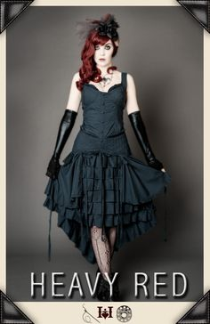 "I really love this ""Bad Alice"" costume look. This dress is amazing! I would try to fit it in my every day attire;-)"