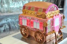 Image result for Gypsy caravan cakes on pinterest