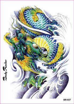 dragoes tattoos - Pesquisa Google                                                                                                                                                      Mais