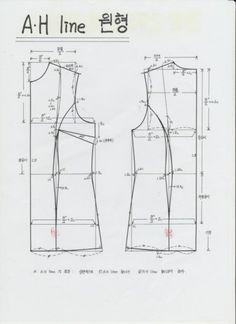 Sensational Tips Sewing Pattern Ideas. Brilliant Tips Sewing Pattern Ideas. T Shirt Sewing Pattern, Pattern Drafting, Sewing Patterns Free, Sewing Basics, Sewing Hacks, Sewing Tips, Sewing Ideas, Pattern Cutting, Pattern Making