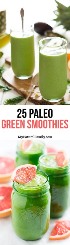 Green smoothies provide many health benefits for people, regardless of their age, gender, or fitness levels. Green smoothies combine various ingredients that provide an array of nutrients for the b… Paleo Green Smoothie, Paleo Smoothie Recipes, Green Smoothie Cleanse, Paleo Recipes, Juice Cleanse, Free Recipes, How To Make Smoothies, Good Smoothies, Smoothie Drinks