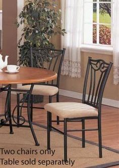 Set of 2 Dining Chairs  Traditional Walnut Finish *** Continue to the product at the image link.Note:It is affiliate link to Amazon.