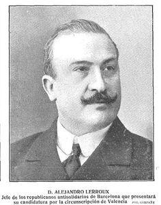 Alejandro Lerroux, Presidente durante la Segunda República y duelista recalcitrante