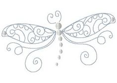 dragonfly and butterfly patterns Embroidery Designs, Embroidery Applique, Cross Stitch Embroidery, Machine Embroidery, Embroidery Thread, Quilling, Dragonfly Tattoo, Dragonfly Drawing, Bordados E Cia