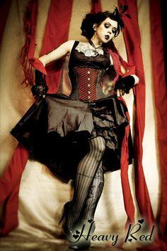 Dark circus #Goth, carney or sideshow Goth
