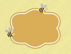 Free Printable Bumble Bee Food Labels