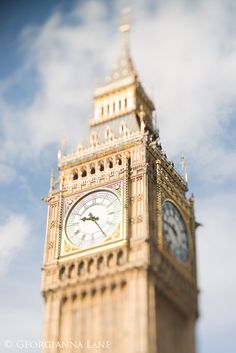 Foto von London Big Ben Westminster Uhrturm von GeorgiannaLane