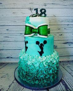 18th birthday Cheerleading cake!