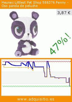 Heunec Littlest Pet Shop 586376 Penny - Oso panda de peluche (Juguete). Baja 47%! Precio actual 3,87 €, el precio anterior fue de 7,36 €. https://www.adquisitio.es/heunec/peluche-0