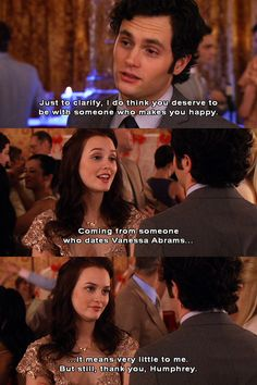 I loved Blair and dans relationship before they dated each other